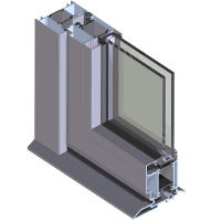 Crown Sliding/Folding Door  sc 1 st  Fabricated Window Systems for trade customers & Aluminium Doors for the trade